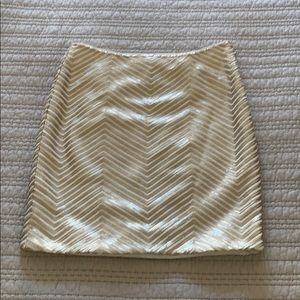 Banana Republic sequin skirt